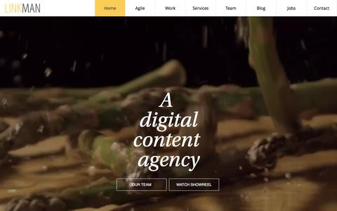 Digital Content Agency | Linkman