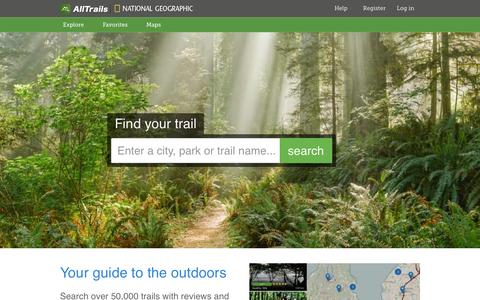 Discover Camping, Hiking, Mountain Biking & Other Outdoor Trails | AllTrails.com