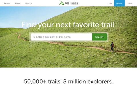 Outdoor Guides | Hiking, Camping, Trail Running, Dog Friendly Trails | AllTrails
