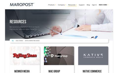 Resources | Maropost