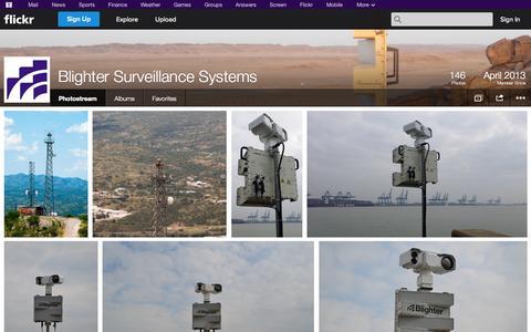Screenshot of Flickr Page flickr.com - Flickr: Blighter Surveillance Systems' Photostream - captured Oct. 23, 2014
