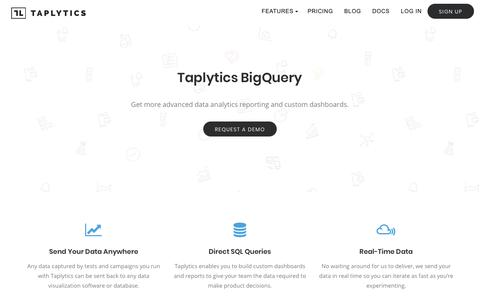 Real-time Data Analytics for Web, Mobile, and TV Apps - Taplytics