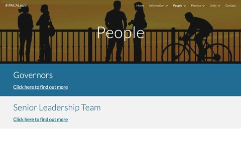 Screenshot of Team Page google.com - #IPACALearn - People - captured April 29, 2017