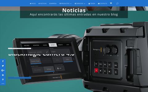 Screenshot of Blog videologic-sistemas.com - Blog | Videologic Sistemas - captured Dec. 11, 2016