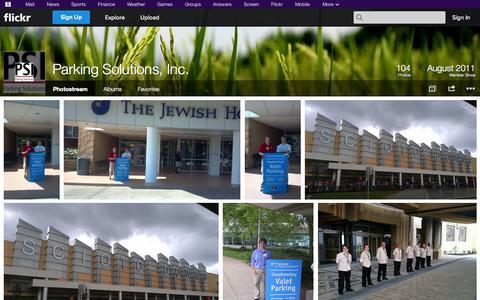 Screenshot of Flickr Page flickr.com - Flickr: Parking Solutions, Inc.'s Photostream - captured Oct. 22, 2014
