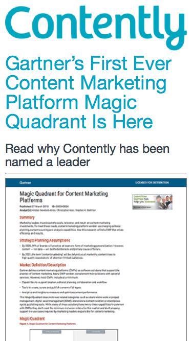 Content Marketing Platform   Contently