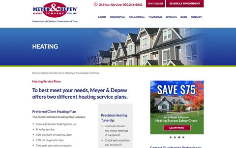 NJ Heating Service Plans | Meyer & Depew