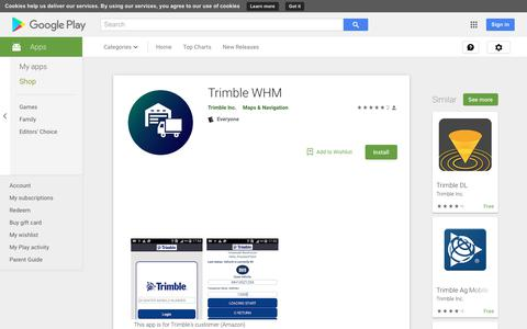 Trimble WHM - Apps on Google Play