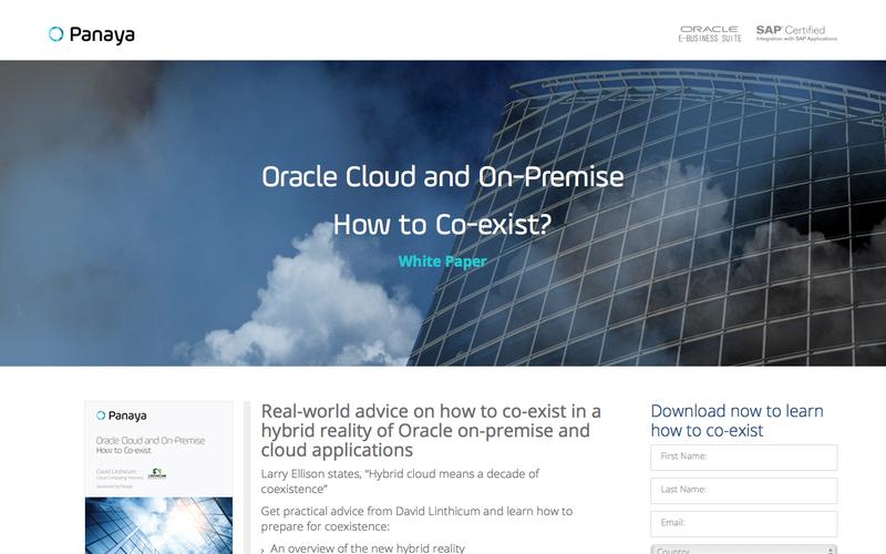 Oracle Cloud and On Premise - How to Coexist
