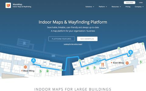 MazeMap Indoor Maps and Wayfinding