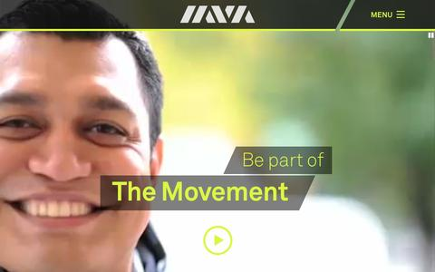 Screenshot of Home Page iava.org - Iraq and Afghanistan Veterans of America (IAVA) » We've got your back. - captured Feb. 25, 2016